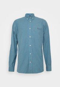 MICRO CHECK SHIRT - Shirt - blue