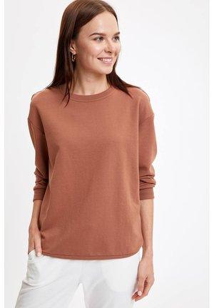 SWEATSHIRT - Sweatshirt - brown