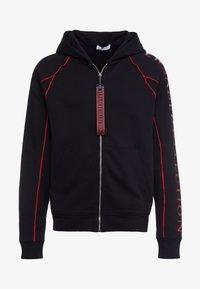 Versace Collection - SPORTIVO FELPA CON CAPPUCCIO - Zip-up hoodie - nero - 3