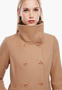 s.Oliver - Classic coat - brown - 2