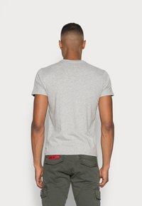 Schott - LOGO 2 PACK - Print T-shirt - navy/grey - 3