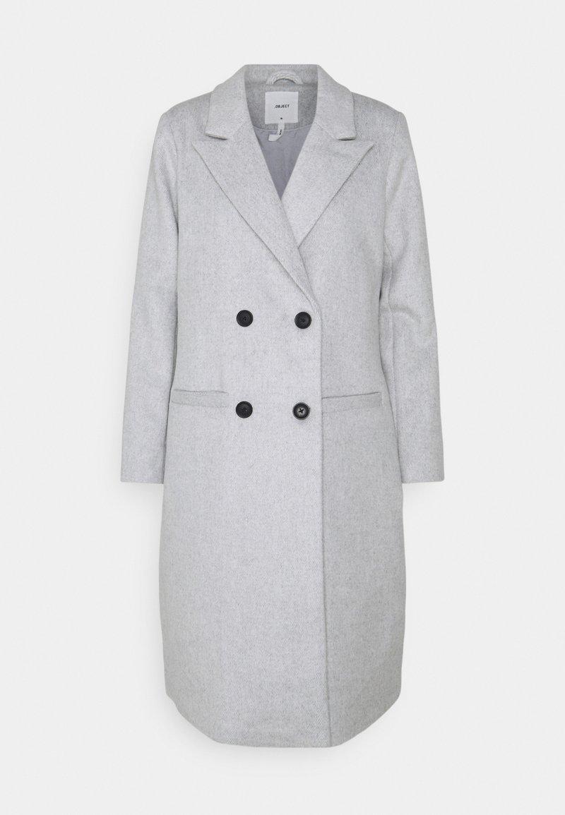 Object - OBJLINEA  - Klasický kabát - light grey melange