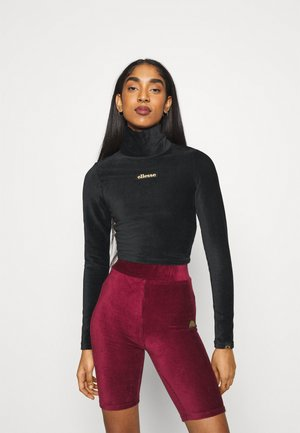HOLLIE - Long sleeved top - black