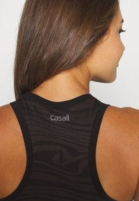 Casall - SEAMLESS MELTED  - Top - melted brown - 3