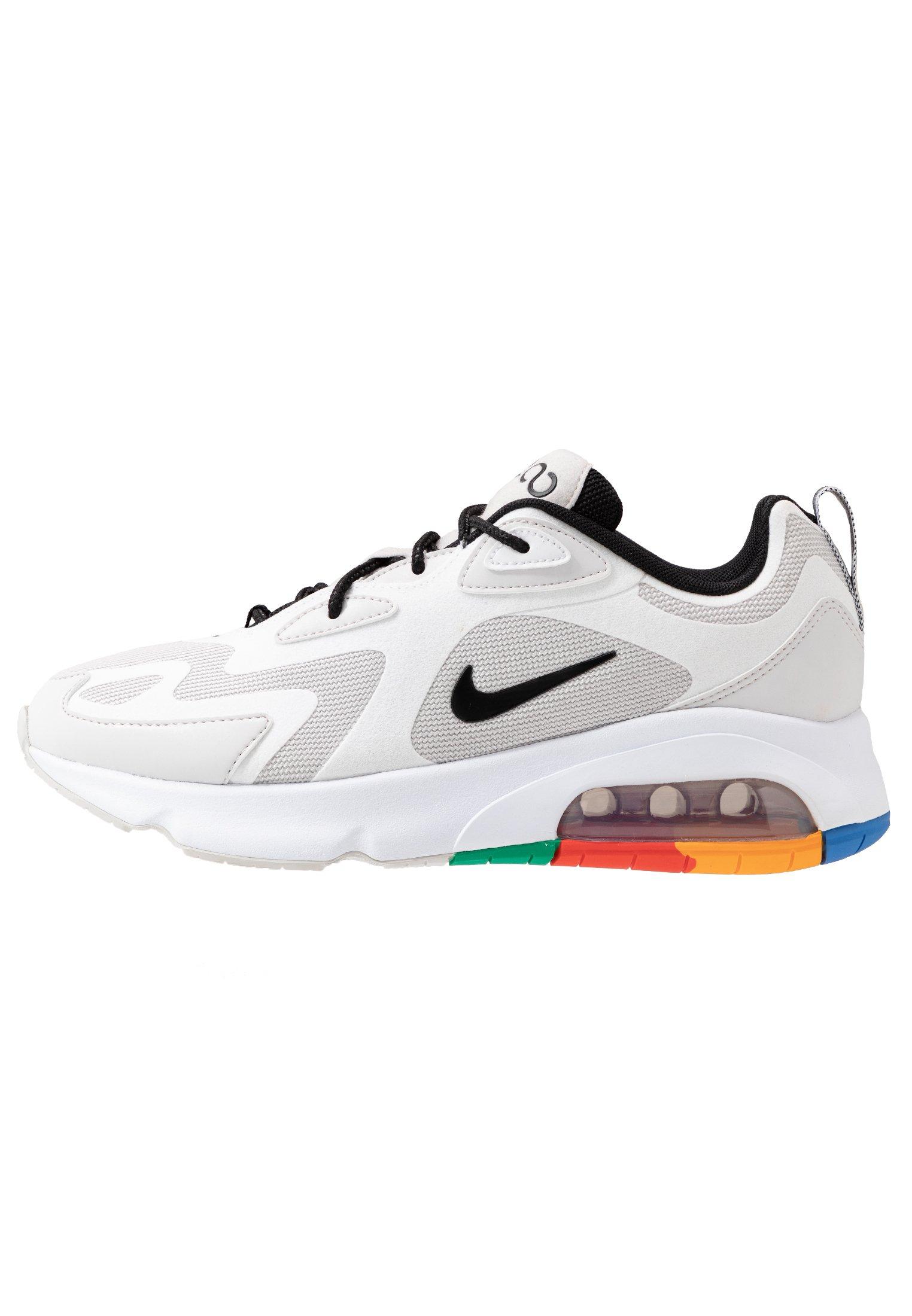 AIR MAX 200 - Sneakers laag - vast grey/black/white/pacific blue/habanero  red/kumquat