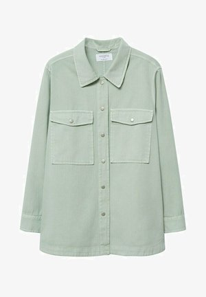 Button-down blouse - wassergrün