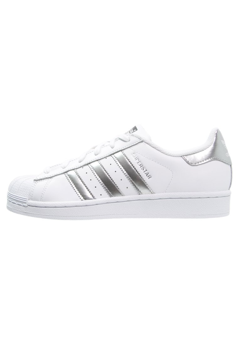 SUPERSTAR - Sneaker low - white/silver metallic/core black