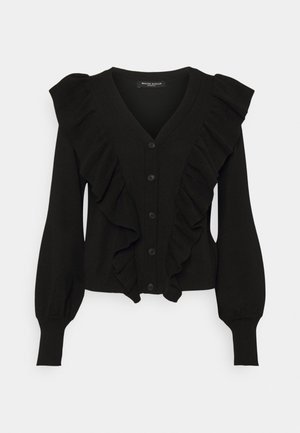 ANEMONE MIRELLA CARDIGAN - Cardigan - black