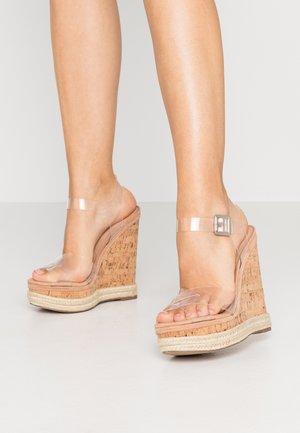MAVEN - High heeled sandals - clear