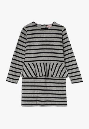 MINI WAY DRESS LONG SLEEVE KNEE LENGTH - Denní šaty - grey melange