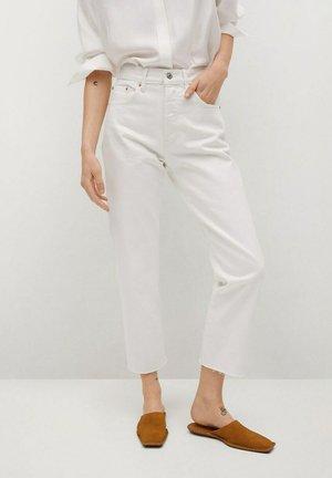 HAVANA - Straight leg jeans - white