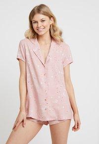 Even&Odd - SET - Pyjama set - white/rose - 0