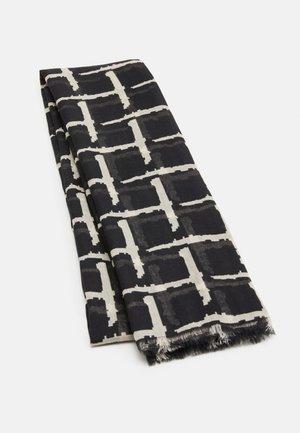 GRIDIA COMO SCARF - Sjaal - black