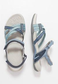 Hi-Tec - SAVANNA II  - Chodecké sandály - flinstone/charcoal/dusty blue - 1