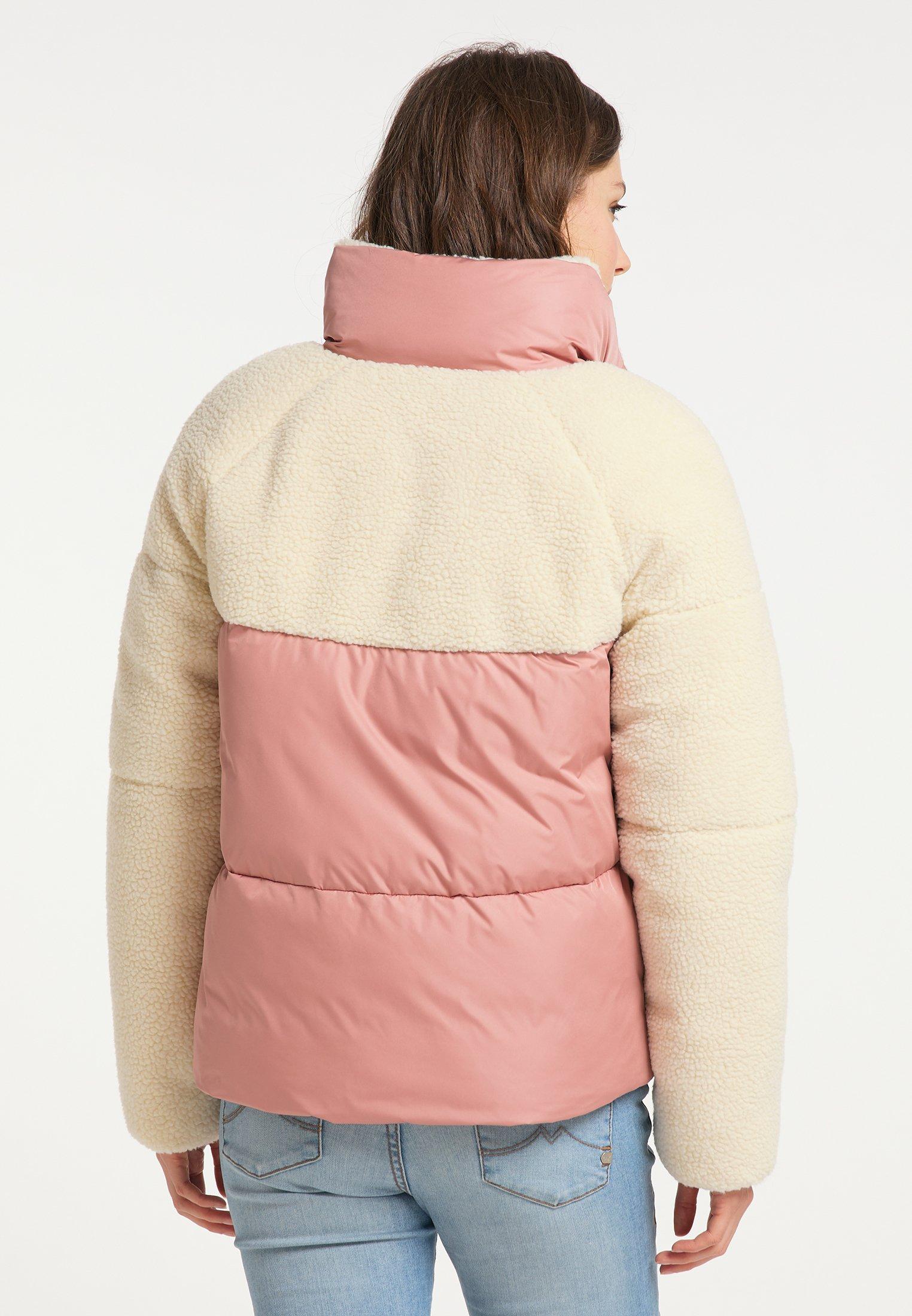 myMo Winterjacke altrosa/rosa