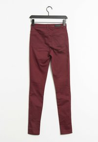 Pieces - Trousers - red - 1