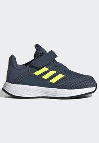 adidas Performance - DURAMO SL SHOES - Sports shoes - crew navy/solar yellow/halo silver - 6