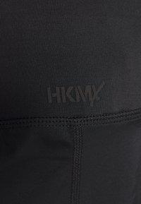 Hunkemöller - 7/8 COLOURBLOCK  LEGGING - 3/4 sports trousers - black - 5