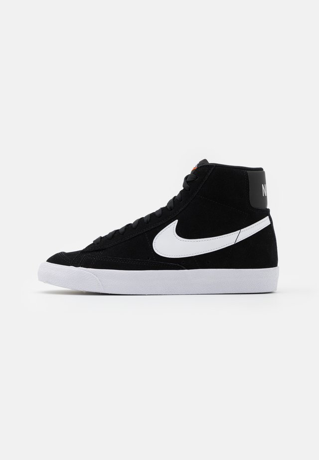BLAZER MID '77 UNISEX - Baskets montantes - black/white/total orange