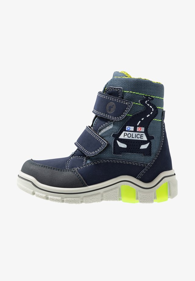 WHISTON - Winter boots - nautic/nebel