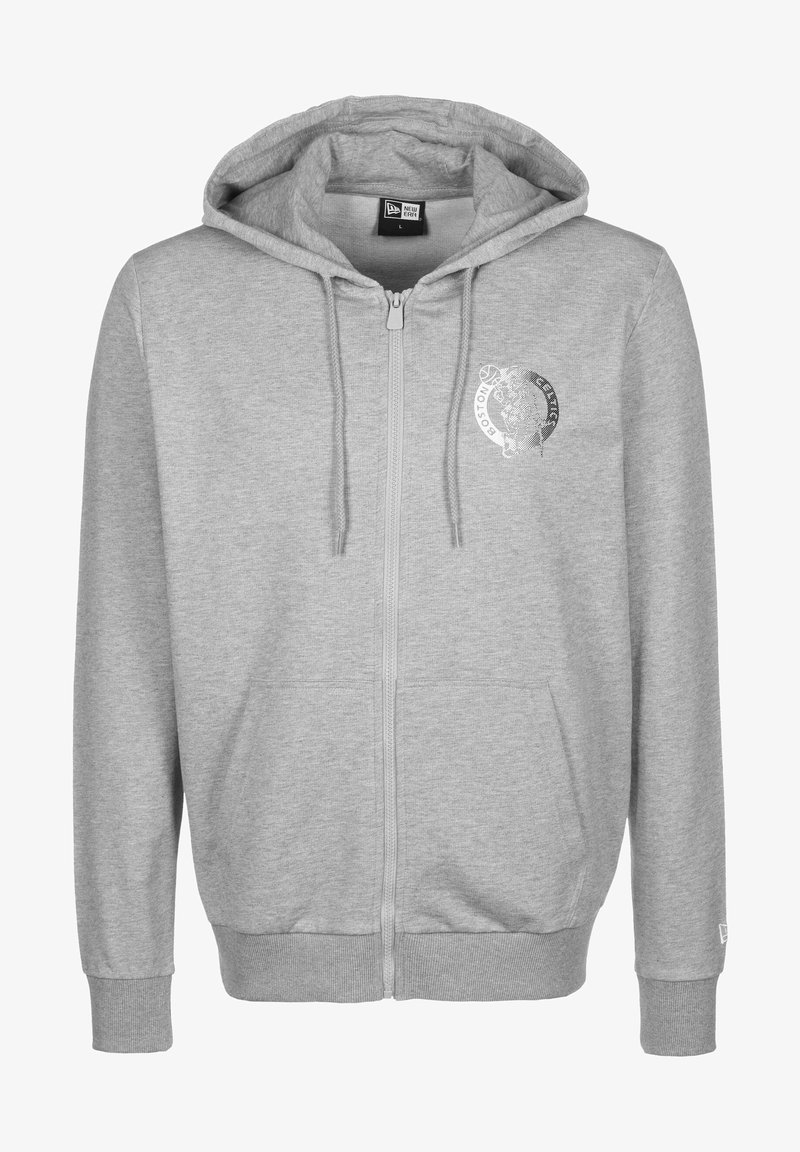 New Era - veste en sweat zippée - grey
