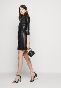 Patrizia Pepe - ABITO DRESS  - Shirt dress - nero - 5