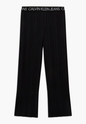 LOGO WAISTBAND - Trousers - black
