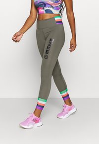 Nike Performance - ONE - Leggings - twilight marsh/black - 0