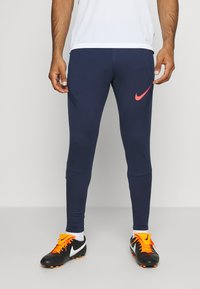 Nike Performance - DRY STRIKE PANT - Verryttelyhousut - midnight navy/soar/laser crimson - 2
