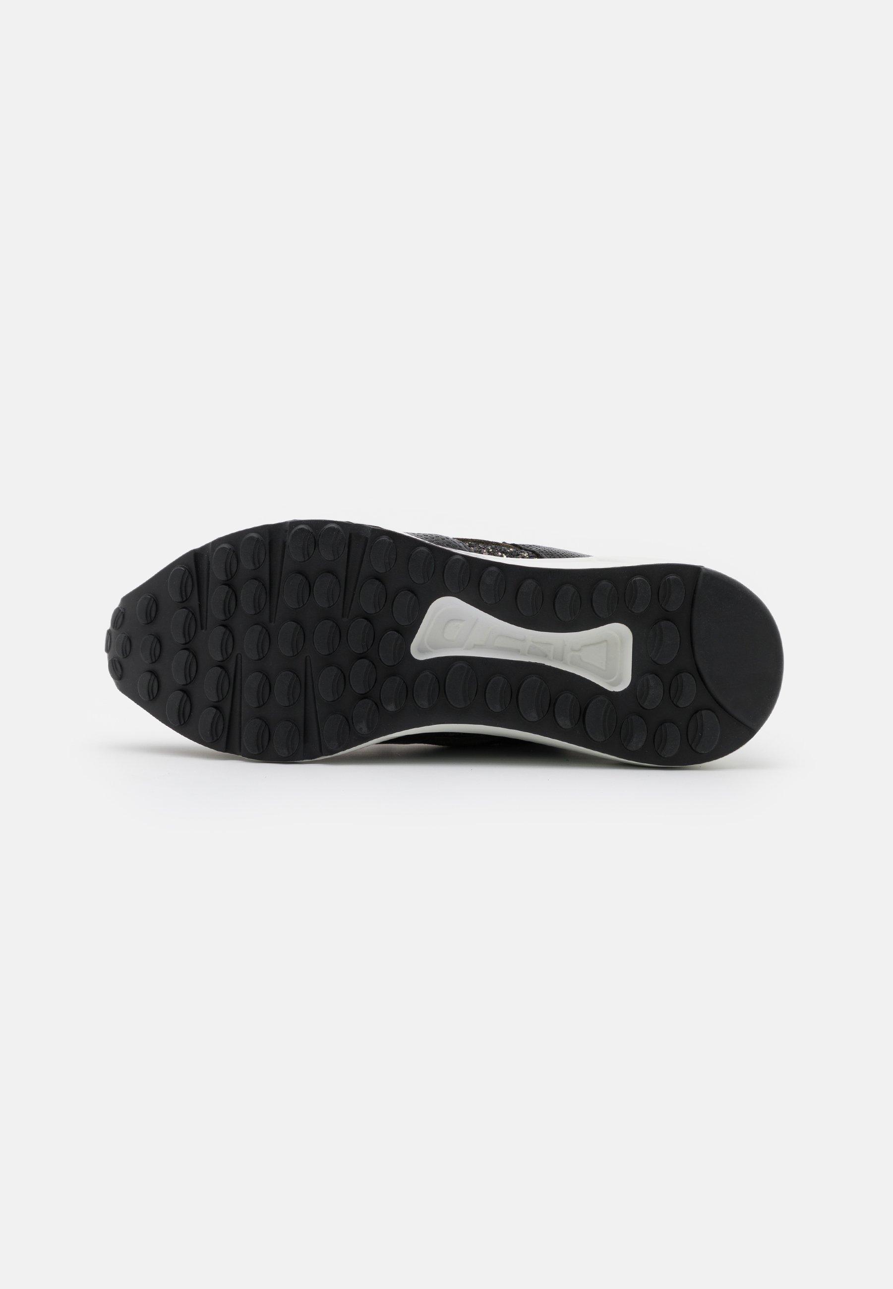 Steve Madden CLIFF Sneaker low black/olive/olivmeliert