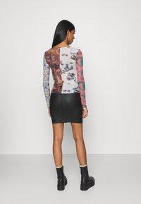 NEW girl ORDER - SPLICED PATCHWORK - Long sleeved top - multi - 2
