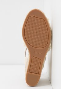ALDO - ONAREWIA - High heeled sandals - natural - 6
