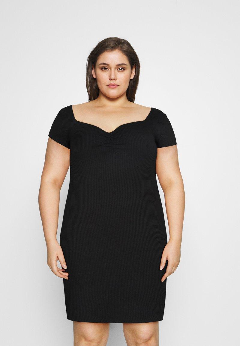 Even&Odd Curvy - Day dress - black