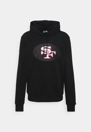 NFL SAN FRANSICO 49ERS QUICK TURN HOODIE - Article de supporter - black