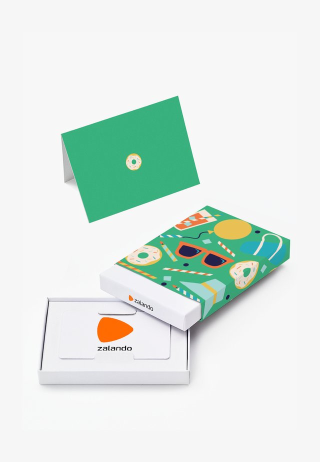 HAPPY BIRTHDAY - Gift card box - green