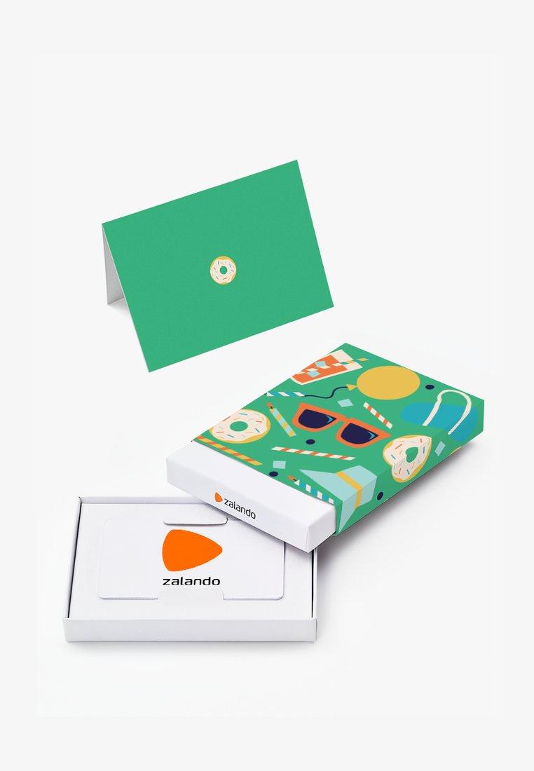 Zalando - HAPPY BIRTHDAY - Gift card box - green