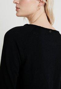Rich & Royal - HEAVY LONGSLEEVE - Long sleeved top - black - 4