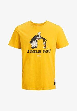 JORPETE - Print T-shirt - spectra yellow