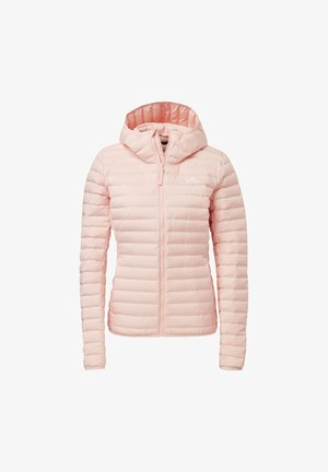 VARILITY SOFT HOODED OUTDOOR DOWN JACKET - Softshelljacke - pink