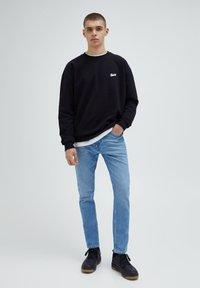 PULL&BEAR - Slim fit jeans - stone blue denim - 1