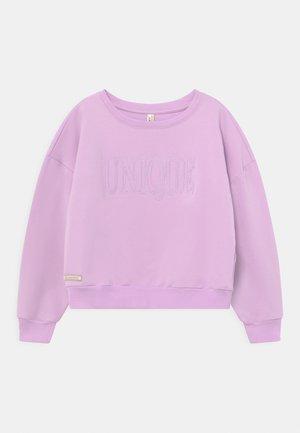 GIRLS UNIQUE  - Sweatshirt - violett reactive