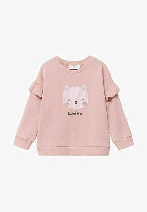 KATOENEN - Sweater - lichtroze