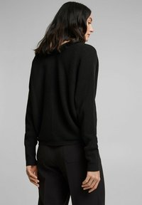 Esprit Collection - OPEN CARDI - Cardigan - black - 2