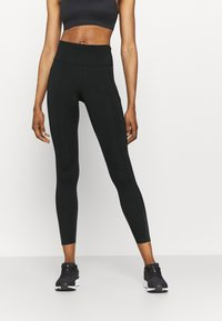 Nike Performance - EPIC LUXE COOL - Tights - black/silver - 0