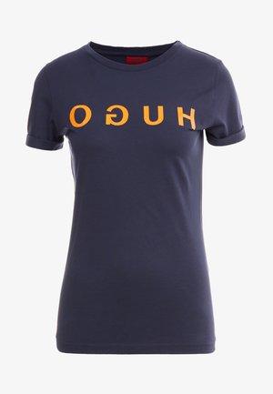 DENNA - Print T-shirt - open blue