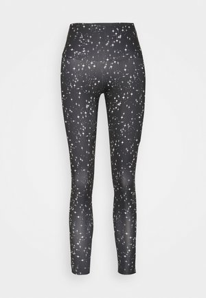 HIGH BASIC MIDI - Leggings - black/white