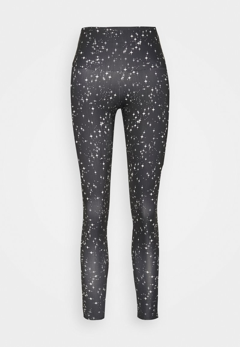 Onzie - HIGH BASIC MIDI - Collant - black/white