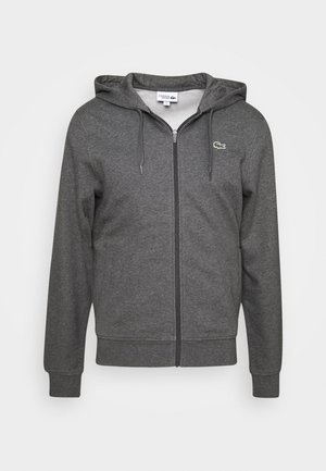CLASSIC HOODIE JACKET - Bluza z kapturem - pitch chine/graphite sombre