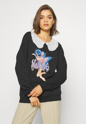 COLLAR PIXIE - Sweatshirt - black