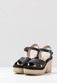 mtng - CAMBA - High heeled sandals - black - 4